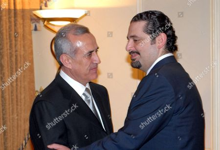 Saad Hariri congratulates President Michel Suleiman.