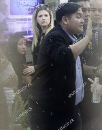 Filipino Singer/actress Charice Pempengco (l) is Seen Inside a Military Camp to Witness the Surrender of His Father's Killer in Quezon City East of Manila Philippines 03 November 2011 the Prime Suspect in the Killing of International Singer Charices Father Ricky Pempengco Surrendered to Authorities Philippines Manila