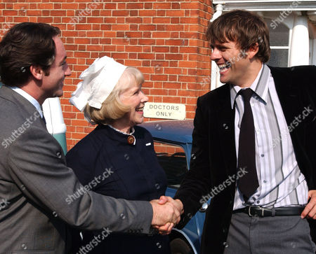 'The Royal'   TV   Series 6 Pictured: Adam Carnegie (Robert Cavanah), Matron (Wendy Craig) and Dr Mike Banner (Sam Callis)