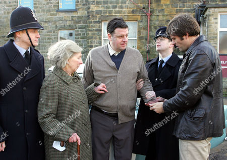 'The Royal'   TV   Series 6 Edith Taylor (Elizabeth Kelly), Billy Taylor (Andrew Dunn) and Dr Mike Banner (Sam Callis)