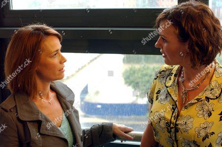 'Strictly Confidential'   TV Eva Pope and Suranne Jones