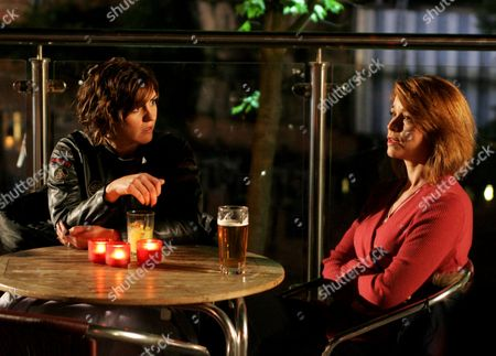 Stock Picture of 'Strictly Confidential'   TV Pictured: Angie (Eva Pope) and Linda (Suranne Jones)
