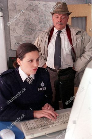 'A Touch of Frost'   TV Georgia MacKenzie and David Jason
