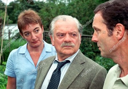 'A Touch of Frost' TV  Elizabeth Rider, David Jason and Rob Spendlove