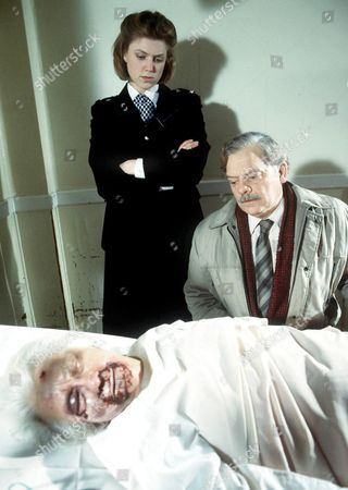 'A Touch of Frost'   TV Caroline Harker and David Jason