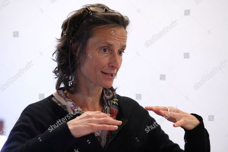 A Picture Made Available on 29 January 2012 Shows British Environmental Campaigner Tracy Louise Ward Marchioness of Worcester Gesturing While Delivering a Speech at the Ratiu Center For Democracy in Turda Romania 28 January 2012 Worcester was Invited to Romania by Non-government Organization (ngo) 'Slow Food' to Present Her Latest Documentary Film 'Pig Business' a Segment of the Documentary Which Highlights the Environmental Impact of Intensive Industrialized Pig Farming Mass Production of Low Quality Pork Meat was Filmed at a Farm Near Timisoara Western Romania Romania Turda