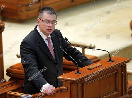 Editorial photo of Romania Government - Feb 2012