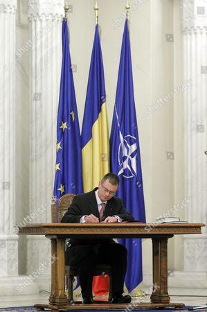 Editorial image of Romania Government - Feb 2012