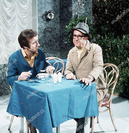 'Des O'Connor Show'  TV - 1970 - Des O'Connor and Phil Silvers.