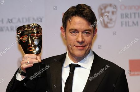 Peter Straughan Poses After Winning the Adapted Screenplay Award For His Movie 'Tinker Tailor Soldier Spy' During the Baftas Orange British Academy Film Awards in London Britain 12 February 2012 United Kingdom London