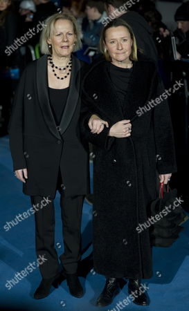 British Film Director Phyllida Lloyd (l) and Her Partner Sarah Cooke (r) Arrive For the Premiere of 'The Iron Lady' to Bfi Southbank Center in London Britain 04 January 2012 'The Iron Lady' Will Be Released in British Theaters on 06 January United Kingdom London