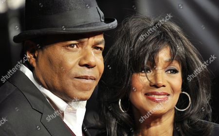 Tito Jackson (l) and Rebbie Jackson Brother and Sister of Late Us Singer Michael Jackson Attend the Premiere of the Documentary Film 'Michael Jackson: Life of an Icon' at Leicester Square in London Britain 02 November 2011 United Kingdom London