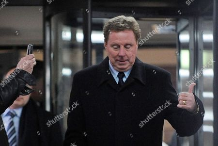 Tottenham Hotspur Manager Harry Redknapp Gives a Thumbs Up As He Departs Southwark Crown Court Following His Tax Evasion Trial in London Britain 08 February 2012 Tottenham Manager Harry Redknapp was on 08 February Cleared of a Tax Evasion Charge After a Trial in London Lasting More Than Two Weeks Redknapp who Has Been Tipped As Next England Manager Had Denied Accepting Secret Untaxed Bonus Payments From Former Portsmouth Chairman Milan Mandaric While He was That Clubs Manager After the Verdict Redknapp Embraced Mandaric who was Also Cleared of Two Charges of Tax Evasion Redknapp was Accused of Cheating the Public Revenue in Relation to Payments Totalling 189 000 Pounds (about 300 000 Dollars) Made to His Bank Account in Monaco United Kingdom London