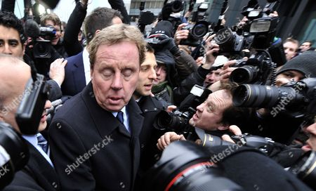 Tottenham Hotspur Manager Harry Redknapp Departs Southwark Crown Court Following His Tax Evasion Trial in London Britain 08 February 2012 Tottenham Manager Harry Redknapp was on 08 February Cleared of a Tax Evasion Charge After a Trial in London Lasting More Than Two Weeks Redknapp who Has Been Tipped As Next England Manager Had Denied Accepting Secret Untaxed Bonus Payments From Former Portsmouth Chairman Milan Mandaric While He was That Clubs Manager After the Verdict Redknapp Embraced Mandaric who was Also Cleared of Two Charges of Tax Evasion Redknapp was Accused of Cheating the Public Revenue in Relation to Payments Totalling 189 000 Pounds (about 300 000 Dollars) Made to His Bank Account in Monaco United Kingdom London