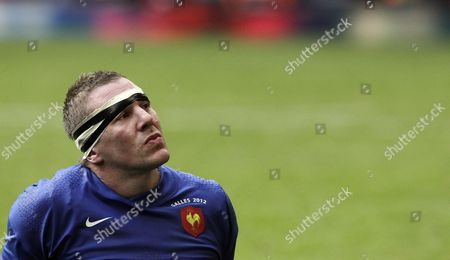 France's Imanol Harinordoquy Shows His Dejection After the Rbs Six Nations Championship Rugby Match Between Wales and France at the Millennium Stadium in Cardiff Wales Great Britain 17 March 2012 United Kingdom Cardiff