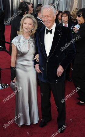 Canadian Actor/producer Christopher Plummer (r) and Wife Elaine Taylor Arrive For the 84th Annual Academy Awards at the Hollywood and Highland Center in Hollywood California Usa 26 February 2012 the Oscars Are Presented For Outstanding Individual Or Collective Efforts in Up to 24 Categories in Filmmaking United States Hollywood