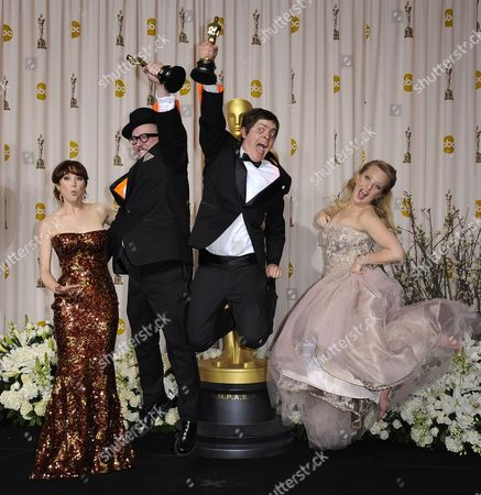 Editorial picture of Usa Academy Awards 2012 - Feb 2012