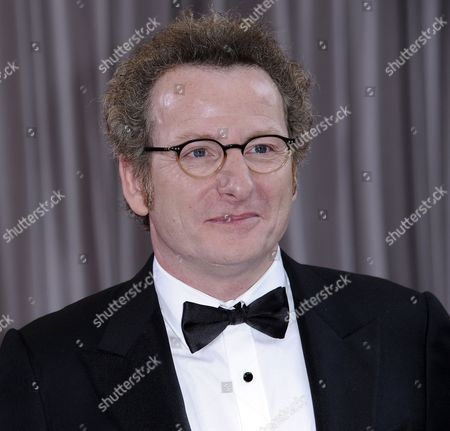 Stock Image of French Cinematographer Guillaume Schiffman Arrives For the 84th Annual Academy Awards at the Hollywood and Highland Center in Hollywood California Usa 26 February 2012 the Oscars Are Presented For Outstanding Individual Or Collective Efforts in Up to 24 Categories in Filmmaking United States Hollywood