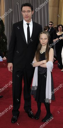 British Actor Peter Straughan (l) and Guest Arrive For the 84th Annual Academy Awards at the Hollywood and Highland Center in Hollywood California Usa 26 February 2012 the Oscars Are Presented For Outstanding Individual Or Collective Efforts in Up to 24 Categories in Filmmaking United States Hollywood