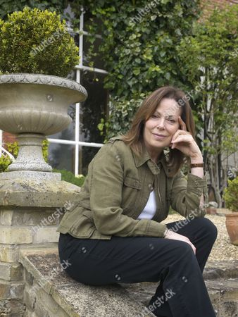 Author Rose Tremain at home in Norwich , Norfolk.