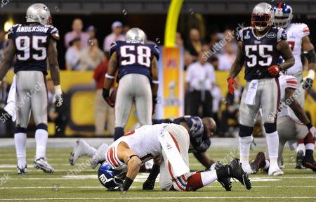 Editorial image of Usa American Football Super Bowl Xlvi - Feb 2012