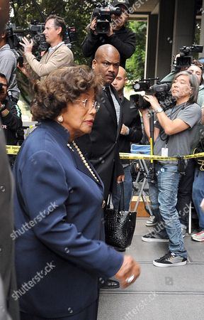 Katherine Jackson the Mother of Michael Jackson Arrives For the Sentencing of Dr Conrad Murray who was Convicted of Involuntary Manslaughter For the Death of Pop Signing Legend Michael Jackson at the Los Angeles Superior Courthouse in Los Angeles California Usa 29 November 2011 Murray Faces Up to Four Years of Jail Time in the Death of Jackson United States Los Angeles