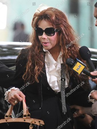 Latoya Jackson the Sister of the Late Michael Jackson Arrives For the Sentencing of Dr Conrad Murray who was Convicted of Involuntary Manslaughter For the Death of Pop Singing Legend Michael Jackson at the Los Angeles Superior Courthouse in Los Angeles California Usa 29 November 2011 Murray Faces Up to Four Years of Jail Time in the Death of Michael Jackson United States Los Angeles