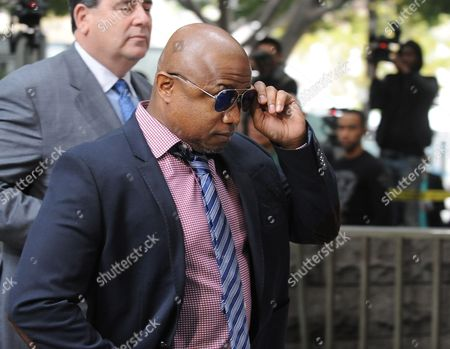 Randy Jackson the Brother of the Late Michael Jackson Arrives For the Sentencing of Dr Conrad Murray who was Convicted of Involuntary Manslaughter For the Death of Pop Singing Legend Michael Jackson at the Los Angeles Superior Courthouse in Los Angeles California Usa 29 November 2011 Murray Faces Up to Four Years of Jail Time in the Death of Michael Jackson United States Los Angeles
