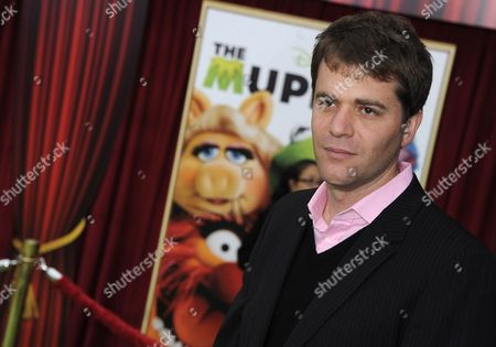Stock Picture of British Writer Nick Stoller Arrives For the World Premiere of 'The Muppets' in Los Angeles California Usa 12 November 2011 United States Los Angeles