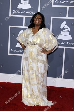 Gospel Singer Kim Burrell Arrives For the 54th Annual Grammy Awards at the Staples Center in Los Angeles California Usa 12 February 2012 United States Los Angeles