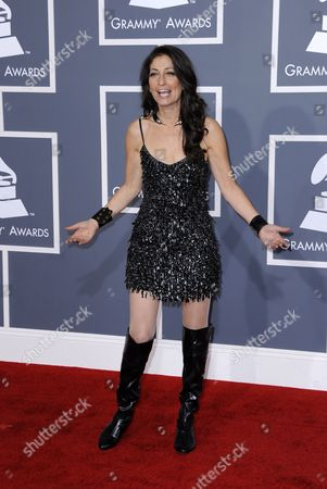 Singer-songwriter Linda Chorney Arrives For the 54th Annual Grammy Awards at the Staples Center in Los Angeles California Usa 12 February 2012 United States Los Angeles