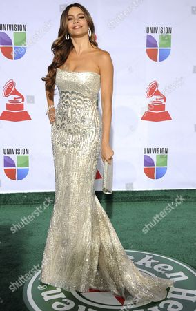 Colombian Actress Sophia Vergara Arrives For the 12th Annual Latin Grammy Awards in Las Vegas Nevada Usa 10 November 2011 Latin Grammy Awards Recognize Artistic And/or Technical Achievement not Sales Figures Or Chart Positions and the Winners Are Determined by the Votes of Their Peers-the Qualified Voting Members of the Academy United States Las Vegas