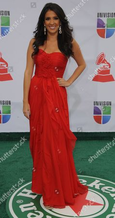 Stock Image of Television Personality Maria Teresa Interiano at the 12th Annual Latin Grammy Awards in Las Vegas Nevada Usa 10 November 2011 Latin Grammy Awards Recognizes Artistic And/or Technical Achievement not Sales Figures Or Chart Positions and the Winners Are Determined by the Votes of Their Peers - the Qualified Voting Members of the Academy United States Las Vegas