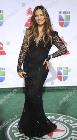 Chilean Singer Myriam Hernandez Arrives For the 12th Annual Latin Grammy Awards in Las Vegas Nevada Usa 10 November 2011 Latin Grammy Awards Recognize Artistic And/or Technical Achievement not Sales Figures Or Chart Positions and the Winners Are Determined by the Votes of Their Peers-the Qualified Voting Members of the Academy United States Las Vegas