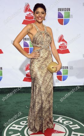 Actress Catalina Mesa Arrives For the 12th Annual Latin Grammy Awards in Las Vegas Nevada Usa 10 November 2011 Latin Grammy Awards Recognize Artistic And/or Technical Achievement not Sales Figures Or Chart Positions and the Winners Are Determined by the Votes of Their Peers-the Qualified Voting Members of the Academy United States Las Vegas