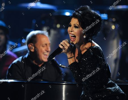 Venzuelan Singer Franco De Vita (l) and Mexican Singer Alejandra Guzman Perform During the 12th Annual Latin Grammy Awards in Las Vegas Nevada Usa 10 November 2011 Latin Grammy Awards Recognize Artistic And/or Technical Achievement not Sales Figures Or Chart Positions and the Winners Are Determined by the Votes of Their Peers-the Qualified Voting Members of the Academy United States Las Vegas