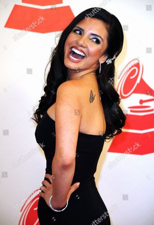 Writer Karen Hoyos Arrives at the Latin Recording Academy Person of the Year Tribute to Shakira in Las Vegas Nevada Usa 09 November 2011 United States Las Vegas