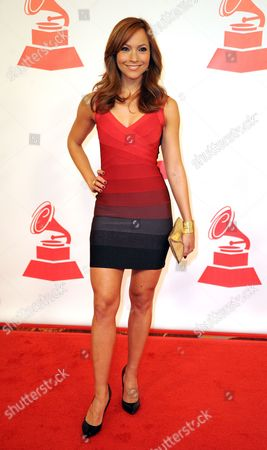 Honduran Television Personality Satcha Pretto Arrives at the Latin Recording Academy Person of the Year Tribute to Shakira in Las Vegas Nevada Usa 09 November 2011 United States Las Vegas