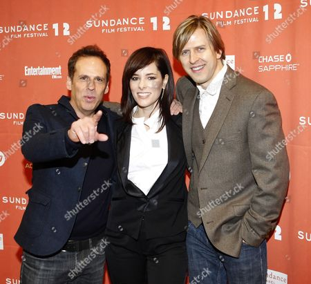 Us Actor Josh Pais (l) Actress Parker Posey (c) and Actor Jayce Bartok (r) Arrive For the Premier of the Movie 'Price Check' at the 2012 Sundance Film Festival in Park City Utah Usa 25 January 2012 the Festival Runs From the 19th to the 29th of January in Park City United States Park City