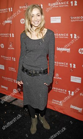 Actress Felicity Price Arrives For the Premier of Her Film 'Wish You Were Here' at the 2012 Sundance Film Festival in Park City Utah Usa 19 January 2012 the Festival Runs From 19 Until 29 January United States Park City