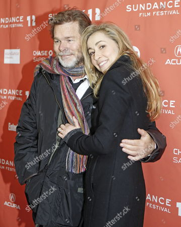Director Kieran Darcy-smith (l) and Australian Actress Teresa Palmer Arrives For the Premier of Their Film 'Wish You Were Here' at the 2012 Sundance Film Festival in Park City Utah Usa 19 January 2012 the Festival Runs From 19 Until 29 January United States Park City