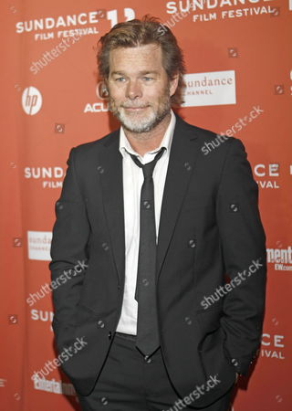 Stock Image of Director Kieran Darcy-smith Arrives For the Premier of His Film 'Wish You Were Here' at the 2012 Sundance Film Festival in Park City Utah Usa 19 January 2012 the Festival Runs From 19 Until 29 January United States Park City