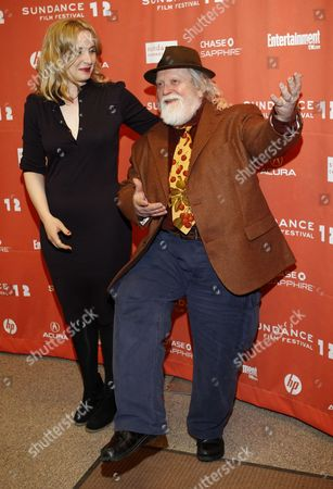 French Director Julie Delpy (l) and Her Father Actor Albert Delpy Arrive For the Premier of the Movie '2 Days in New York' at the 2012 Sundance Film Festival in Park City Utah Usa 23 January 2012 the Festival Runs From the 19th to the 29th of January in Park City United States Park City