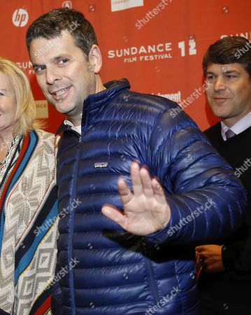 Stock Picture of Us Writer Mark Poirier Arrives For the Premier of the Movie 'Goats' at the 2012 Sundance Film Festival in Park City Utah Usa 24 January 2012 the Festival Runs From the 19 to 29 of January in Park City United States Park City