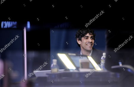Jeremy Stoppelman the Ceo of Yelp Speaks During a Television Interview After His Company's Initial Public Offering at the New York Stock Exchange in New York New York Usa 02 March 2012 Shares of the Company Were Up 66 Percent in the First Hour of Trading United States New York