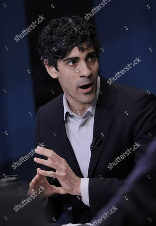 Jeremy Stoppelman the Ceo of Yelp Speaks During a Television Interview After His Company's Initial Public Offering at the New York Stock Exchange in New York New York Usa 02 March 2012 Shares of the Company Were Up 66 Percent in the First Hour of Trading Epa/justin Lane United States New York
