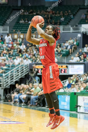 Illinois State Redbirds guard Paris Lee (1) shoots a three point shot during day one of the Diamond Head Classic between the Illinois State Redbirds vs. the Hawaii Warriors at the Stan Sheriff Center in Honolulu, HI. - Steven Erler/CSM