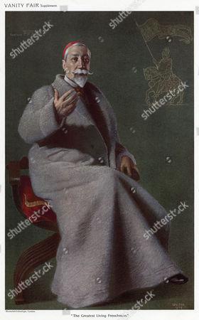 Anatole France (1844-1924) (jacques Anatole Francois Thibault) French Writer