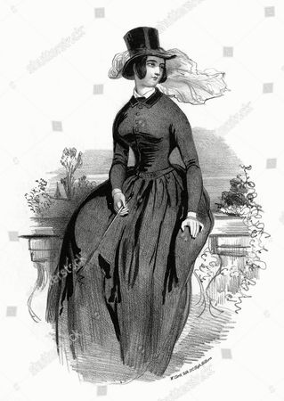 A Notable London Prostitute of the Early Victorian Era - One of the 'Sporting Horsebreakers' 1842