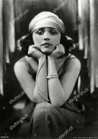 Pola Negri (appolonia Chalupek) Polish-born Actress Who Went to Hollywood in the 1920s and Was Successful in Silent Films 1897 -1987